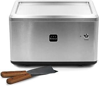 ICEKKUB - Machine à glace roulée Ice Roll - Réalisation de glaces maison en quelques minutes - 2 spatules incluses
