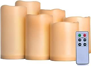 AMAGIC Outdoor Flameless Candles (H4