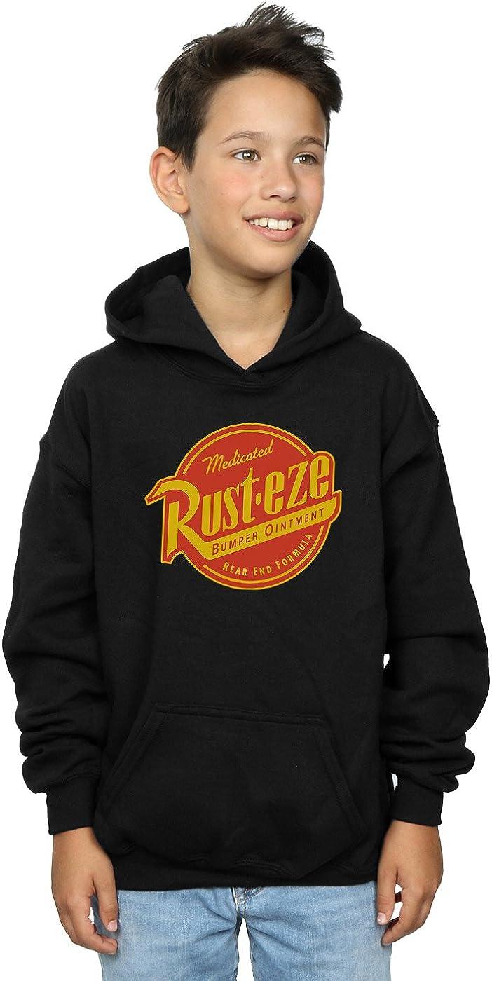 Disney Boys Cars Rust-Eze Logo Hoodie 7-8 Years Black