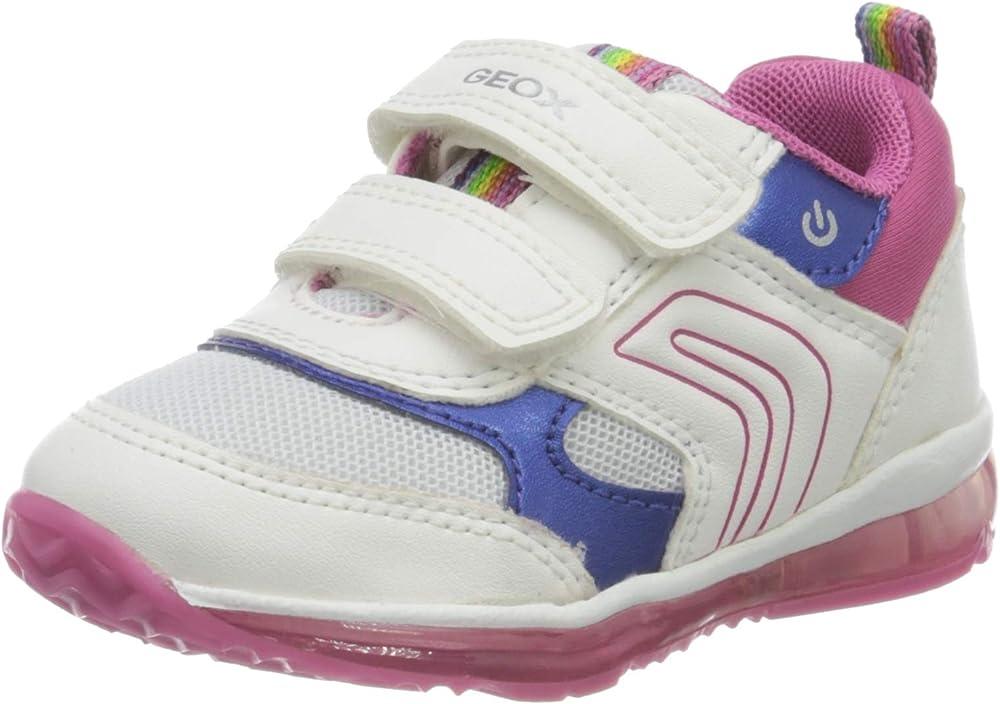 Geox b todo girl b, scarpe da ginnastica bambina,in pelle sintetica e tessuto B0485B002AU 1