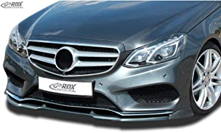 RDX Front Spoiler VARIO-X E-class W212 AMG-Styling 2013+ for AMG-Styling Bumper Front Lip Splitter