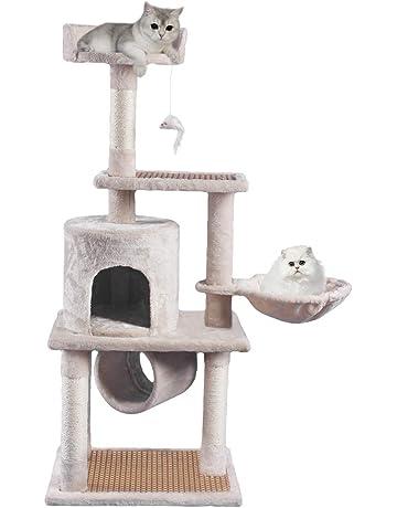 f859dc4530 JL Comfurni 夏にたたみキャットタワー 据え置き猫ハウス cat tower 登り降りしやすい