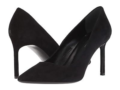 Via Spiga Nikole (Black Premium Suede Leather) Women