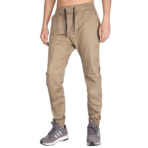 e81293fde5 ITALY MORN Men's Chino Jogger Pant