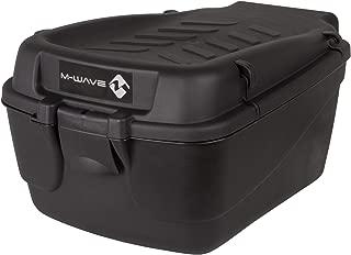 M-Wave Amsterdam Easy - Caja para bicicleta, color negro, talla 43.5 x 31 x 22 cm, 18 Liter