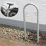 B-Ware (Neuware mit Produktionsfehler) Fahrradanlehnbügel Fahrradständer Anlehnbügel Anlehnständer Poller Ständer feuerverzinkt Fahrradständer Fahrrad Ständer Rad Baumschutzbügel Bike