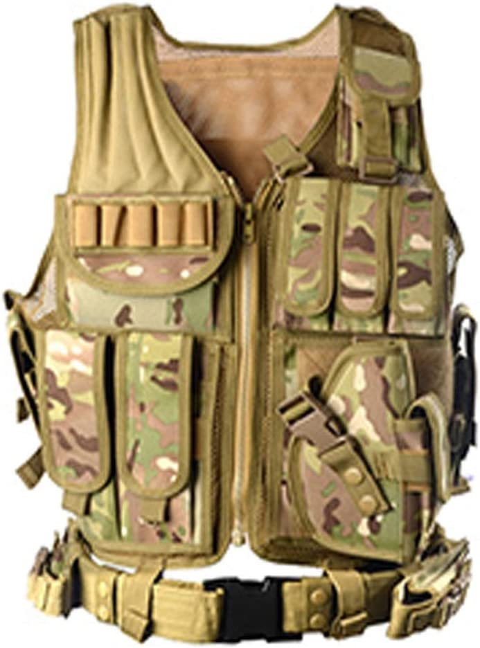 UTA Army-Fans Tactical Vest Cs Feld Swat Tactical Vest Taktische Einsatzweste f/ür Camping Wandern CS Feld Outdoor DAN DISCOUNTS Taktischer Plattentr/äger Weste