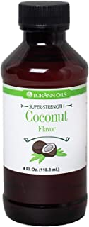 LorAnn Coconut Super Strength Flavor, 4 ounce bottle