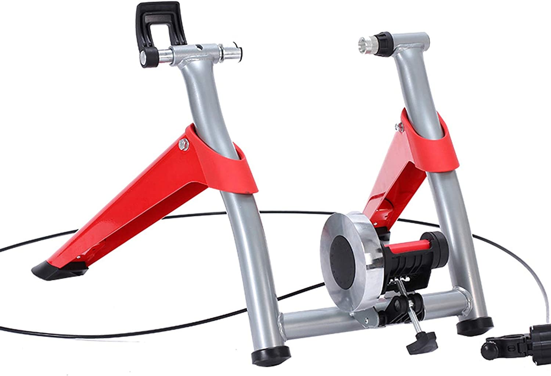 SJNQJJ Bike San Francisco Mall Trainer Stand Heavy 4 years warranty Riding Duty Stationary St Stable