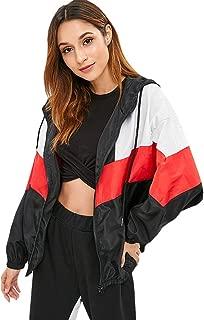 zaful color block jacket