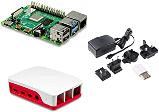 Raspberry Pi 4 Basic Starter Pack 4GB RAM with Case and Power Supply
