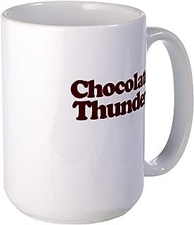 CafePress Chocolate Thunder Mugs Coffee Mug, Large 15 oz. White Coffee Cup