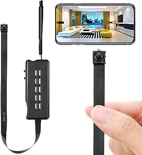 高画質Wi-Fi超小型カメラ 長時間録画隠しスパイカメラ 防犯監視DIYミニカメラ 盗撮 証拠記録 授業 会議 旅行 安定したAPP