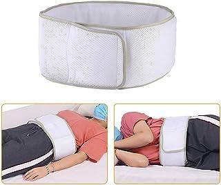 NEPPT Almohada Lumbar para Soporte de sueño Rollo de sueño Lumbar Alivio del Dolor de Cadera Cama Soporte de Espalda para la Cintura Baja de la Cintura Ciática Acostado