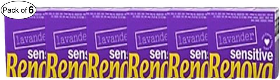 Renova Sensitive Large-scale sale Pocket Tissues- of half 6 Lavender Pack