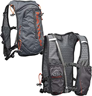 Nathan TrailMix Running Vest/Hydration Pack. 7L (7 Liters) for Men and Women | 2L Bladder Included (2 liters). Zipper, Phone Holder, Water