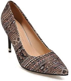 BalaMasa Womens APL12416 Pu Heeled Sandals