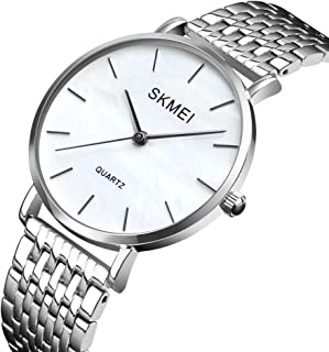 SKMEI 1365 Women Watch Quartz Simple Elegant Wristwatch Fashion Casual 3ATM Waterproof Female Watches