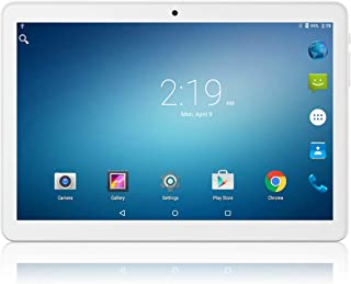 Tablet 10.1 inch Android Go 8.1 Tablet PC,Google Certified, 1GB RAM, 16GB Storage, WiFi, Bluetooth,GPS, 1280X800 IPS Scree...