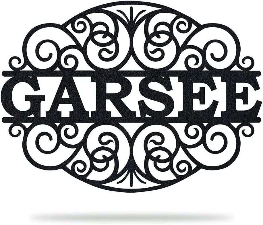 Aihesui HGDBHD Metal Wall Art Home GARSEE'S Free shipping Ranking TOP19 anywhere in the nation Sign for Decor