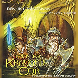Trek To Kraggen-Cor audiobook cover art