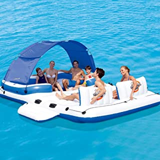 ACC Juguete de Cama Flotante Inflable de Agua/mar para 6-8 Personas, Silla Flotante con Anilla de baño, Ideal para la Desp...