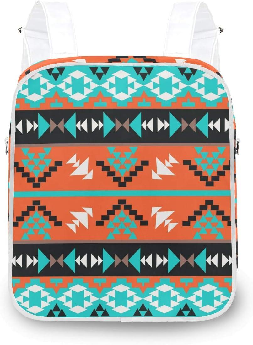 MOFEIYUE Women Backpack Tribal Ethnic Geometric Shoulder S Aztec Manufacturer OFFicial shop Luxury