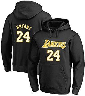 Los Angeles Lakers Kobe Bryant Hoodie - Nba Long Sleeve Sweatshirt Mens Hoody Basketball Training Jersey Black