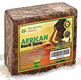 #1 Organic African Black Soap | Acne Treatment & Dark Spot Remover | 60 day Satisfaction Guarantee | For Face & Body 1lb bar