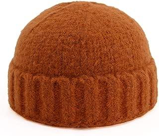MZHHAOAN Hat,Autumn and Winter Couple Melon Hat,Knit Hat
