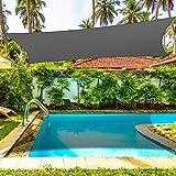 4x3m Sonnensegel Sonnenschutz Garten Balkon Wetterschutz Wasserdichtes Segel für Patio Garten, Terrasse Camping - 95% UV...