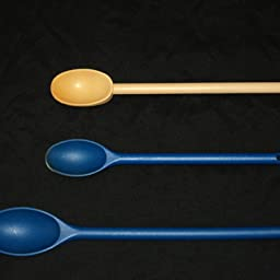15-Inch//12-Inch MIU France Nylon Mixing Spoons Set of 2 Raspberry