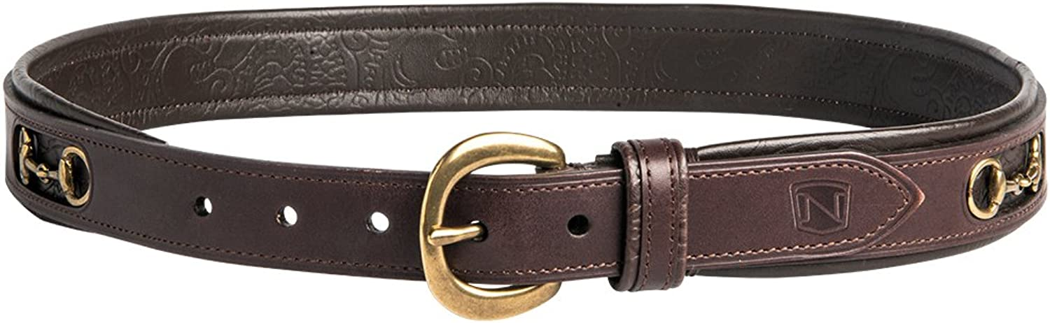 (XSmall, Havana Brass)  Noble Outfitters On the Bit Belt