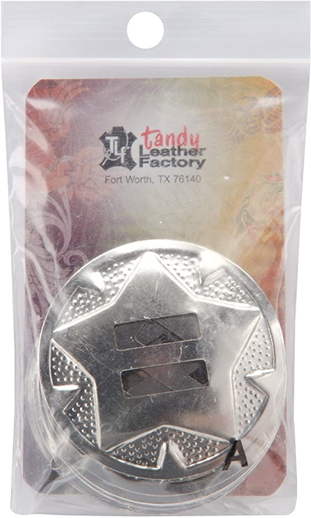 Tandy Leather Star Conchos 1-1/2
