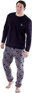 undercover lingerie Mens Warm Fleece Stag/Check Pyjamas PJs Nightwear Various Designs Medium-2XL