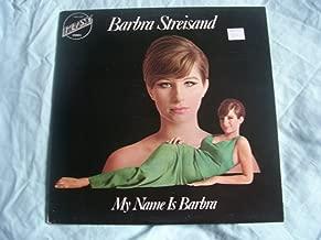 BARBRA STREISAND My Name is Barbra UK LP 1973