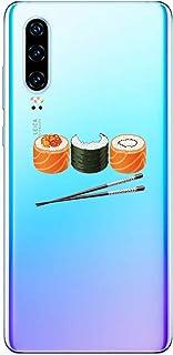 Oihxse Beschermhoes voor Huawei Honor 20 Pro, ultradun, transparant, zachte TPU-gel, siliconen, beschermhoes, schattig mot...