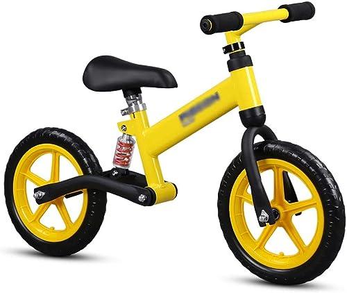 excelentes precios WHTBOX WHTBOX WHTBOX 12 Balance Bike Alloy Bike,No Pedal,Walking,Balance Entrenamiento, Robusto,Niño,niña,Bicicleta para Niños y Niños de 2 a 6 años,amarillo  ventas en linea