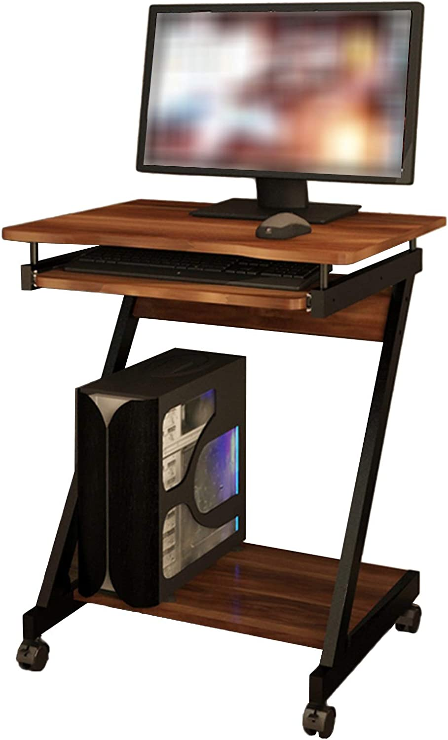Desk Compact latest Computer Cart Home Laptop with Workstation K All stores are sold Office