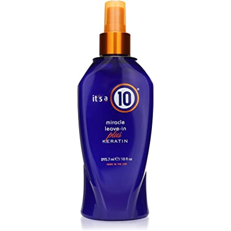 It's a 10 Haircare Miracle Leave-In Plus Keratin Spray, 10 fl. oz (10 Fl. Oz (Pack of 1))