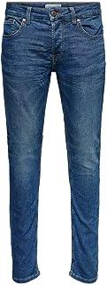 Only & Sons Heren Slim Jeans Onsloom Jog Pk 8472 Noos