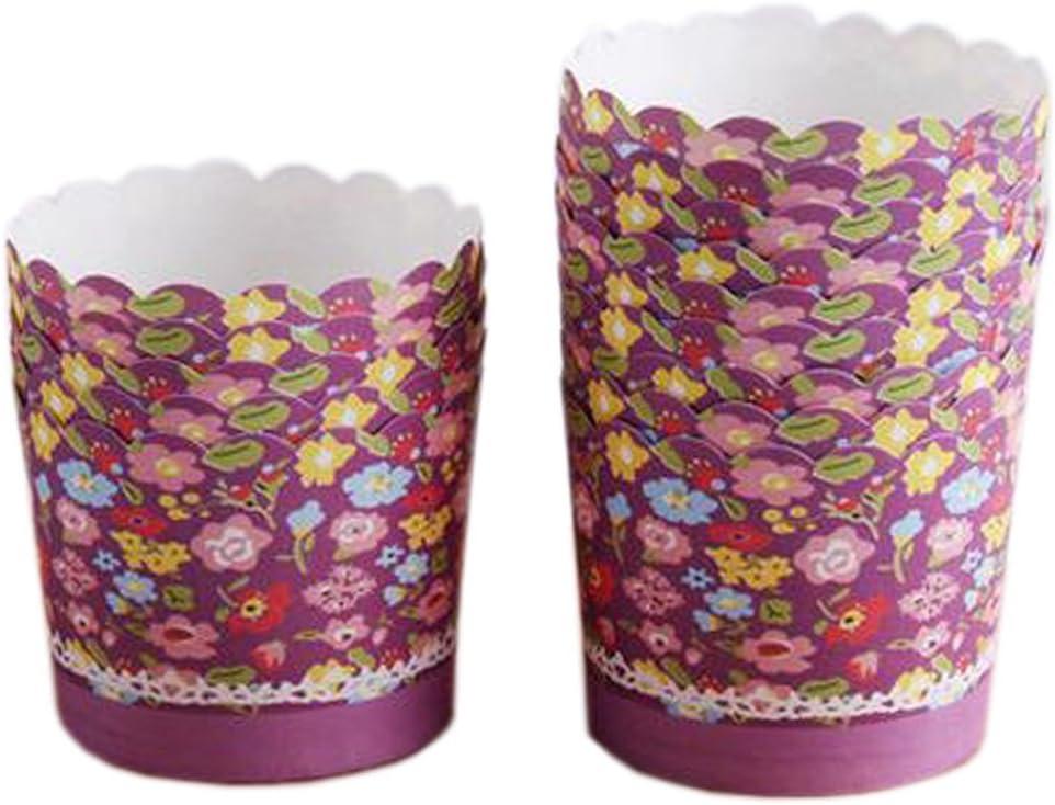Phoenix Wonder 100PCS Home Max 49% OFF SALENEW very popular Baking Paper Cases Cupc Cupcakes Cups