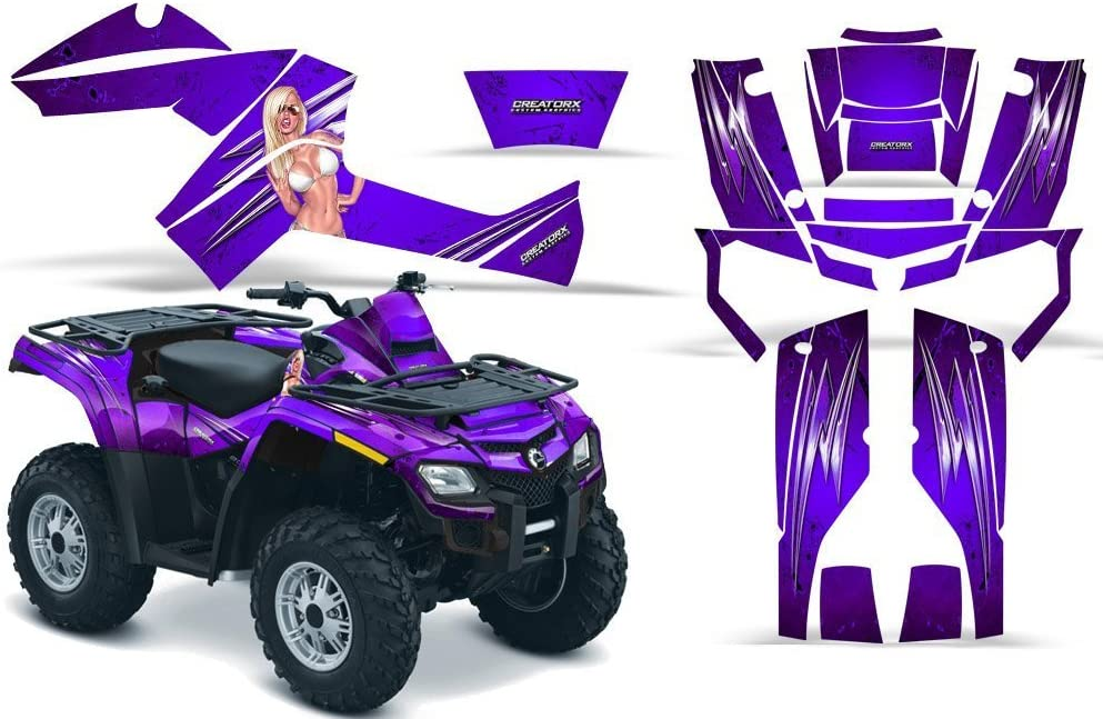 CreatorX Graphics Kit Decals Stickers Can-Am New Free Shipping Outlander 6 Max 50% OFF for 500