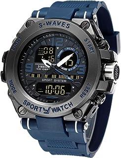 Men¡¯s Sports Watch Men's Digital Watch Wrist Watch Electronic Quartz Movement Military Watch LED Backlight Watches for Men