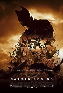 batman begins original movie poster