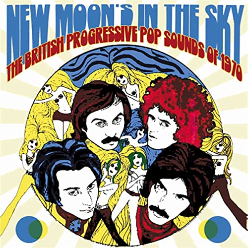 New Moon's In The Sky ~ The British Progressive Pop Sounds Of 1970 (3CD Clamshell Boxset)