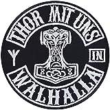 Parche de Thor con nosotros en Valhalla para planchar, dise�