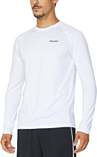 Men's Long Sleeve Running Shirts Cool Workout T-Shirts