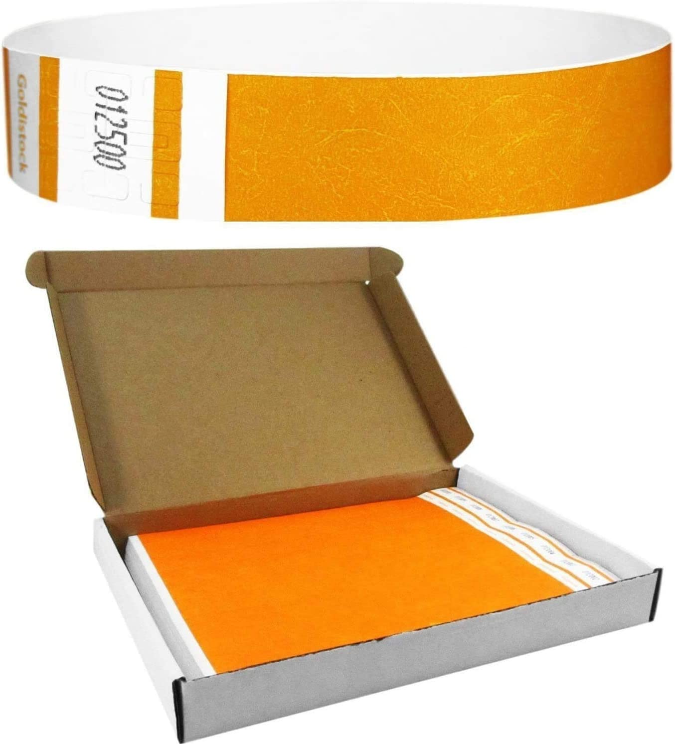 Heavier Recommended Tyvek Wristbands 7.5 New product!! Mil Series Goldistock with - Select