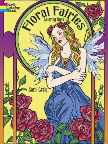 Floral Fairies Coloring Book (Dover Coloring Books)